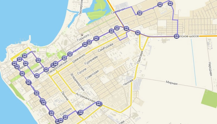 Карта маршрута №2