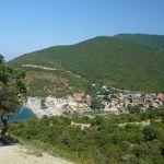 Живописный курортный поселок Абрау