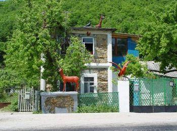 Необычайно сказочный домик с оленями