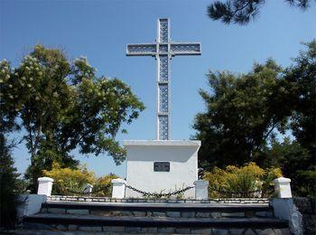 Памятный крест в честь рядового Архипа Осипова