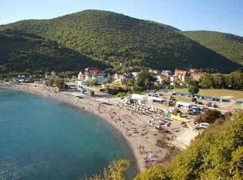Черноморский песчаный пляж