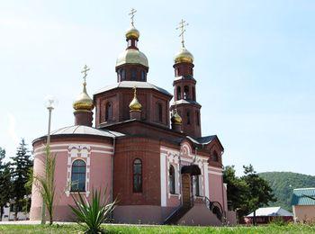 Свято Никольский храм, построен в 1906 году по инициативе казаков