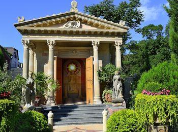 Старый парк Храм Зевса