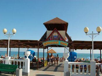 Курортное местечко Архипо-Осиповка, интересное в том числе своим Дельфинарием