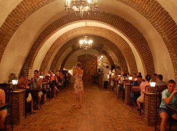 Экскурсии на заводе, с дегустацией пяти сортов вин