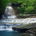 Знаменитые Тешебские водопады