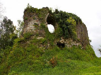 Древние руины замка Баграта