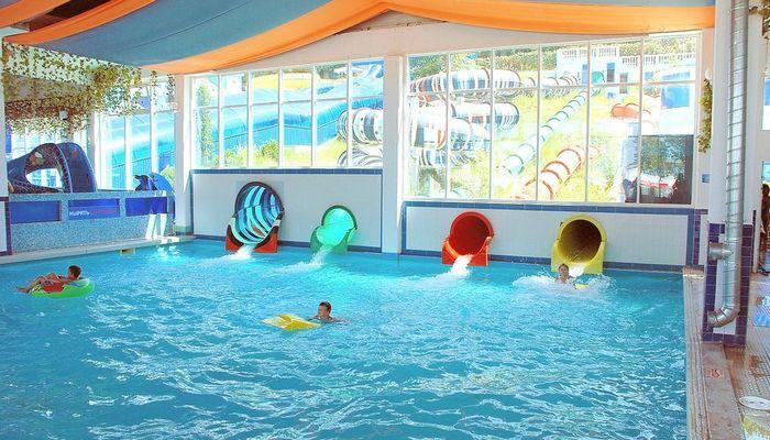 Детскаий бассейн расположен на первом этаже