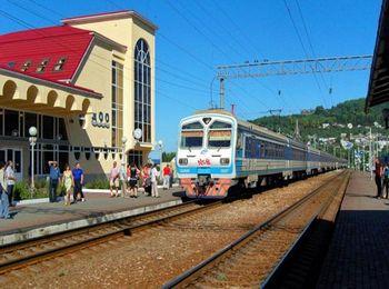 Железнодорожная станция в Лоо
