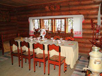 Чайный домик в горах