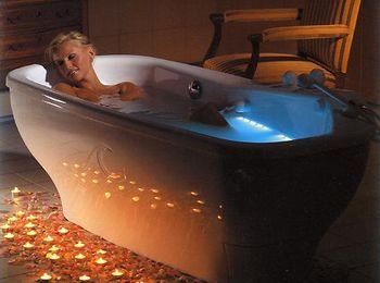 Оздоровительные процедуры - жемчужные ванны