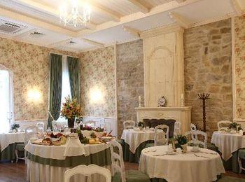 Изысканая кухня в ресторане отеля Империал