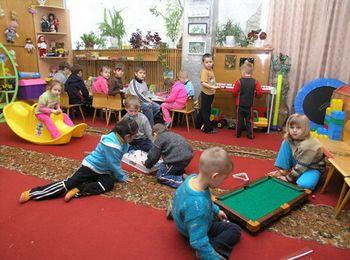 Детская игровая комната на территории комплекса