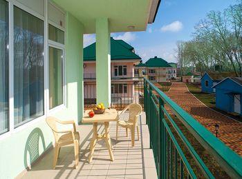 Прекрасный гостиничный комплекс Дюны Золотые