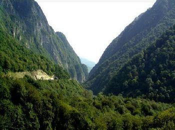 Красивые пейзажи Кавказских гор
