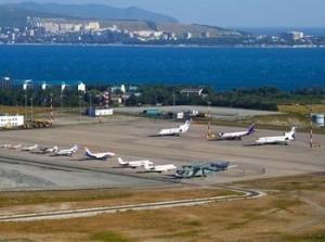Аэродром анапского аэропорта