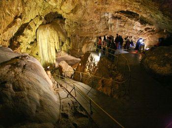 Самая главная достопримечательность Новоафонская пещера