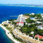Побережье южного курорта Анапы