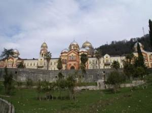 Новый Афон - красивейшая достопримечательность Абхазии