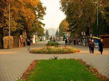 Город красив даже осенью и выглядит потрясающе