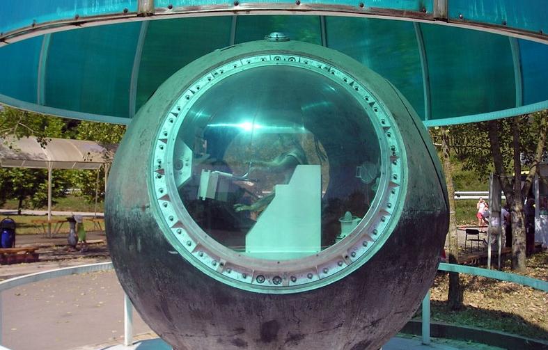 Капсула-памятник первым посетившим космос обезьянам