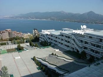 Один из наиболее комфортабельных санаториев курорта