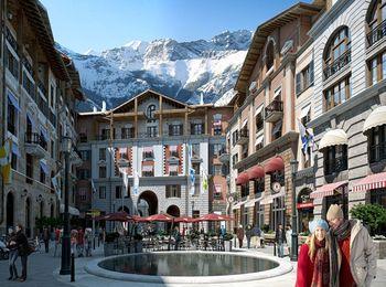 Курорт для любителей покататься на лыжах