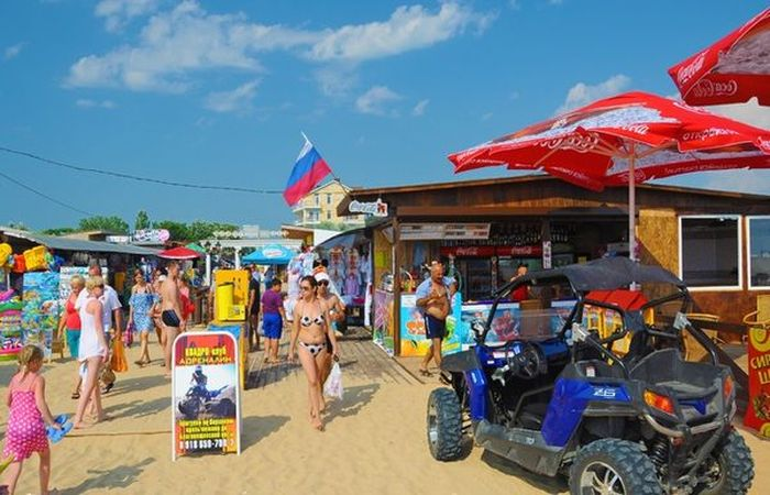 Центральный пляж Паралия
