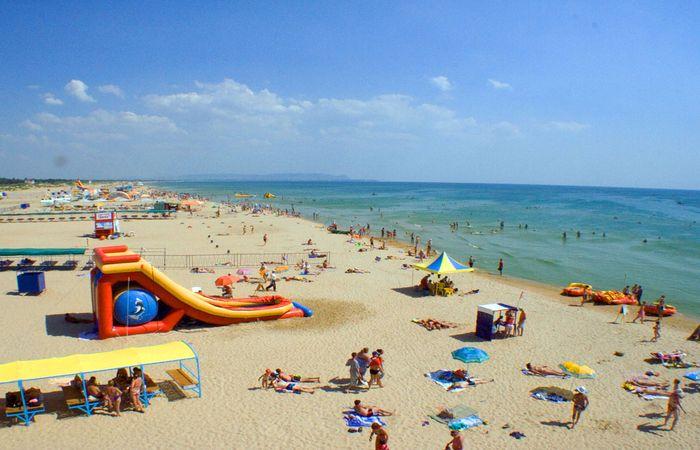 Водные развлечения на территории пляжа