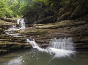 Природная сочинская достопримечательность - Агурский водопад