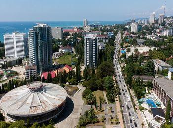 Главный курорт России - город Сочи
