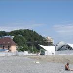 Гостиничный дом Балтийский вблизи от пляжа в Дагомысе