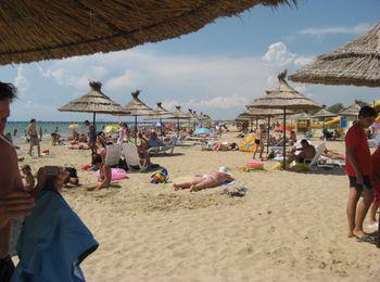 Оборудованные пляжи на побережье