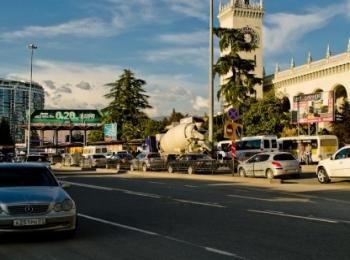 Сочинские дороги заметно обновились перед проведением Олимпиады
