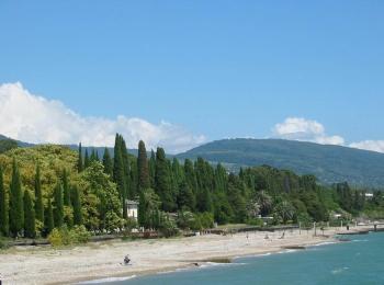Климат в Абхазии - очень мягкий и теплый