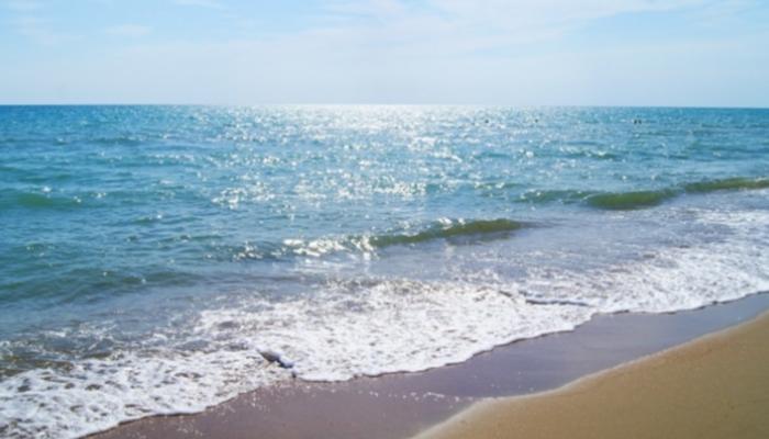 Пляж базы отдыха Тамань