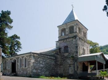 Храм Иоанна Златоуста -  один из церковных памятников Абхазии
