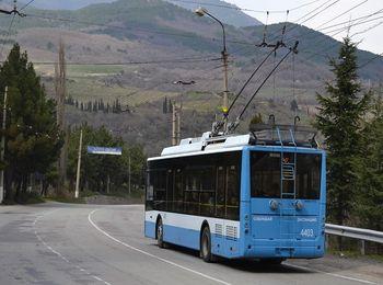Можно добраться как на автобусе, так и на троллейбусе