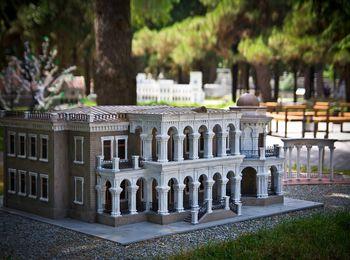 Знаменитый парк Крым в миниатюре