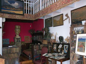Дом посещали многие писатели и поэты