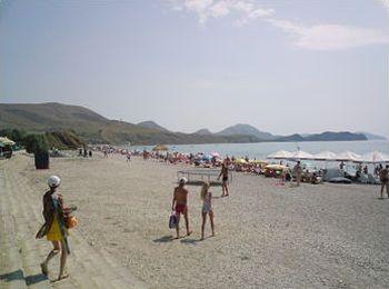 Знаменитый нудистский пляж