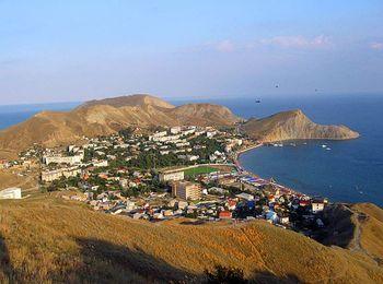 Феодосия - один из древних городо Крыма