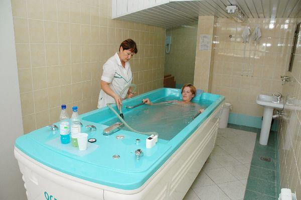 Расслабляющий водный массаж