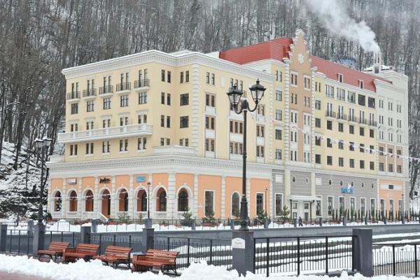 Отель Радиссон Роза Хутор 5