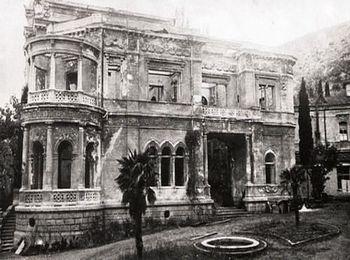 В годы Великой Отечественной войны дворец сгорел