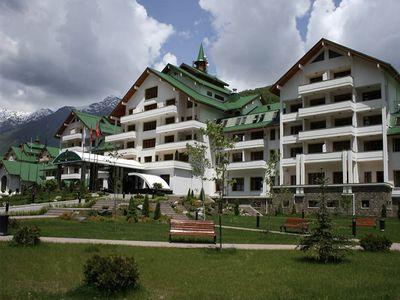 Отельный комплекс курорта Газпром