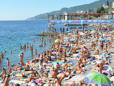 Популярный Массандровский пляж