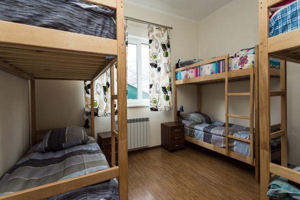 Чистые многоместные комнаты