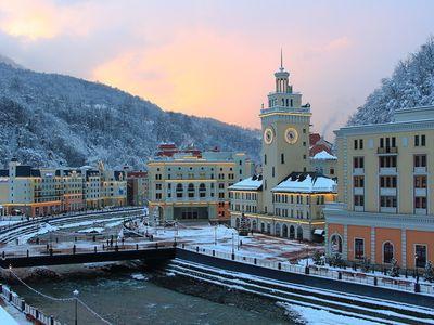 Признан самым лучшим горнолыжным курортом в России