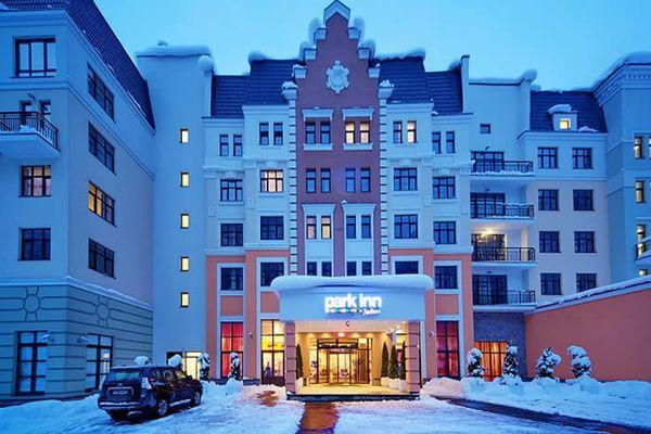 В центре Роза Хутора расположен Park Inn by Radisson Rosa Khutor 4